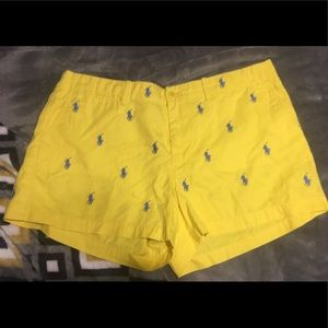 Ralph Lauren Sport Embroidered Shorts size 10